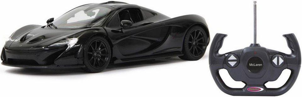jamara rc auto mit led beleuchtung mclaren p1 1 14 27 mhz schwarz online kaufen otto. Black Bedroom Furniture Sets. Home Design Ideas