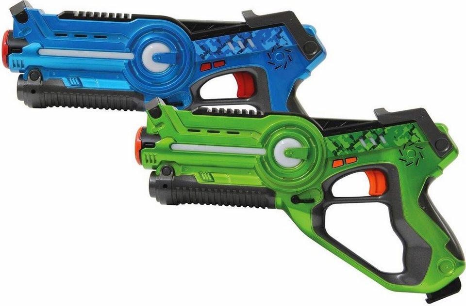 jamara spielzeug laserpistolen set impulse laser battle. Black Bedroom Furniture Sets. Home Design Ideas