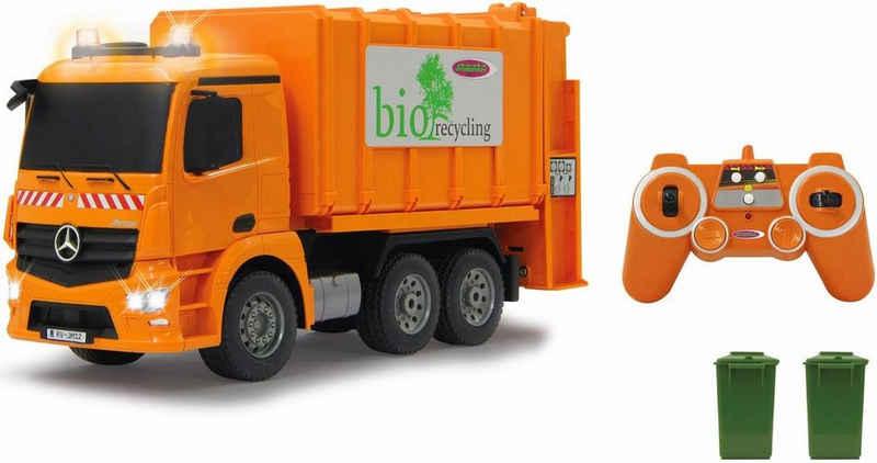 Jamara RC-Truck »Müllwagen Mercedes Antos«, mit Sound und LED Beleuchtung