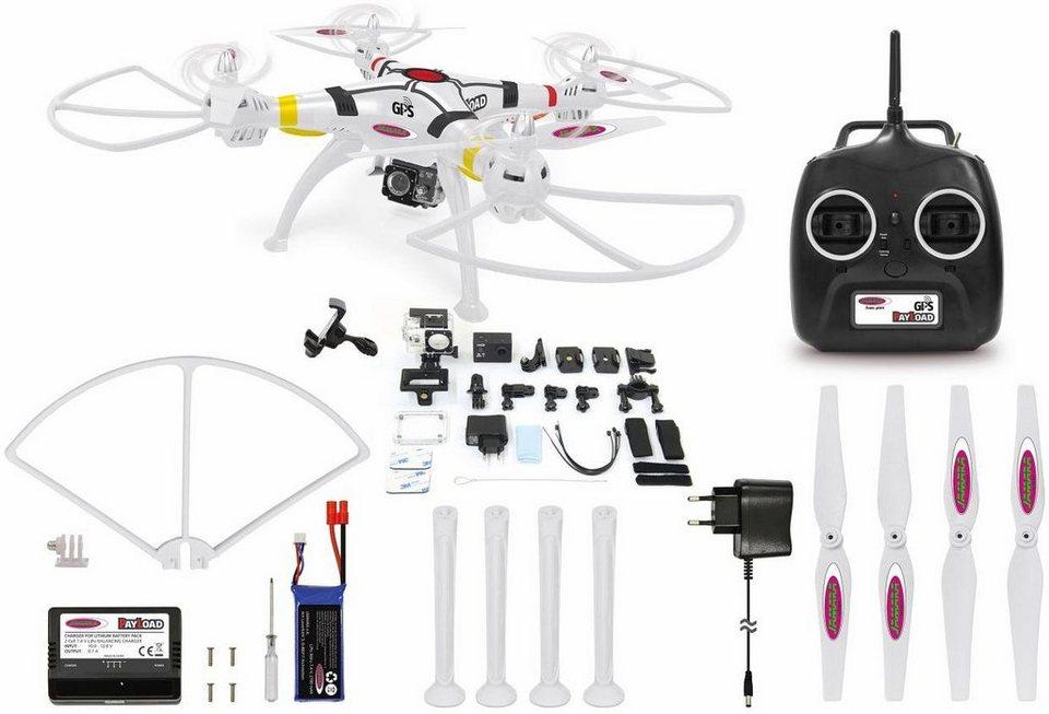 JAMARA Quadrocopter mit Actioncam und GPS,  Payload GPS Altitude FHD +Wifi Actioncam  online kaufen