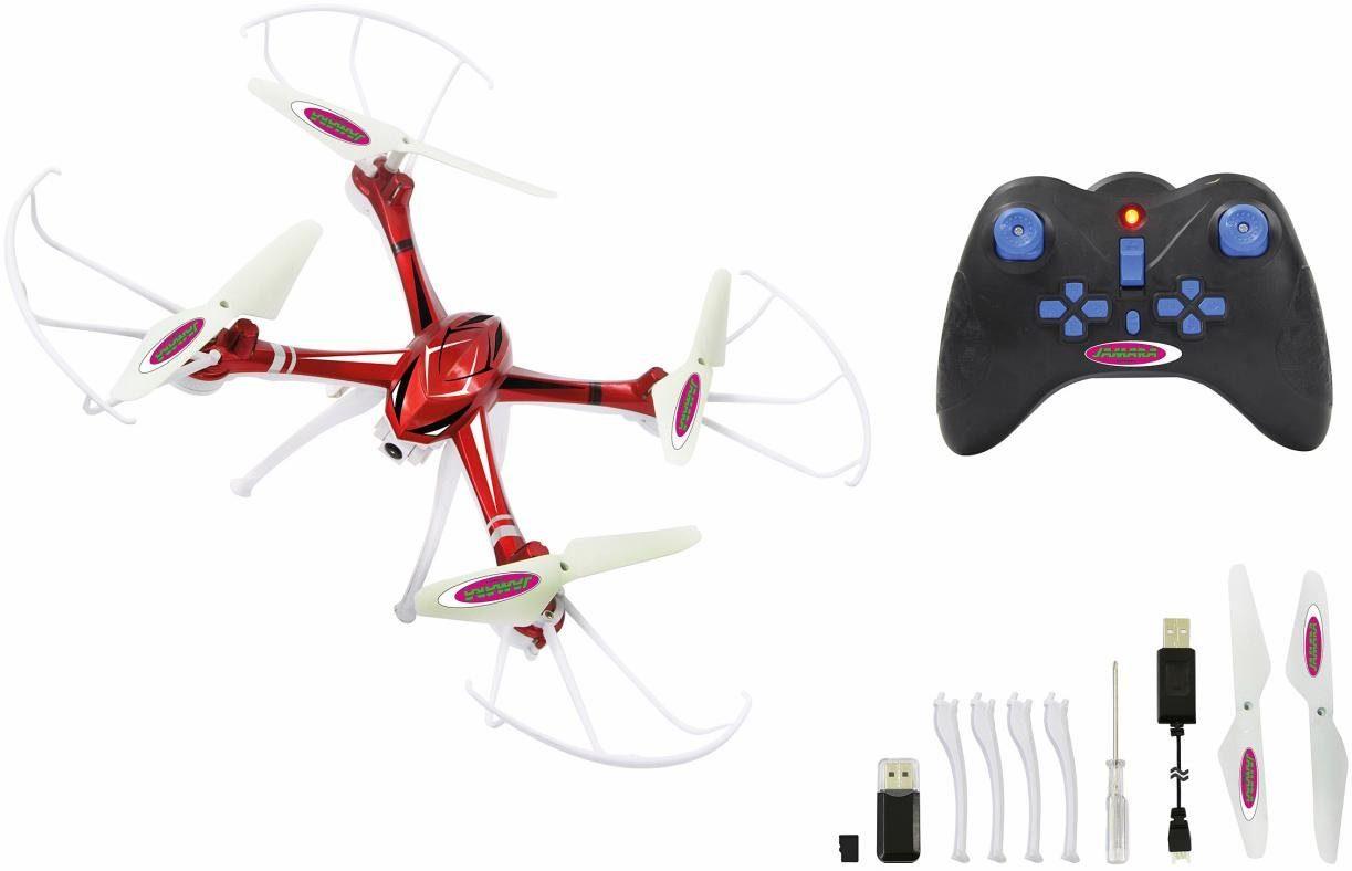 JAMARA Quadrocopter mit HD Kamera, »Merlo Altitude, HD AHP+, 2,4 GHz«