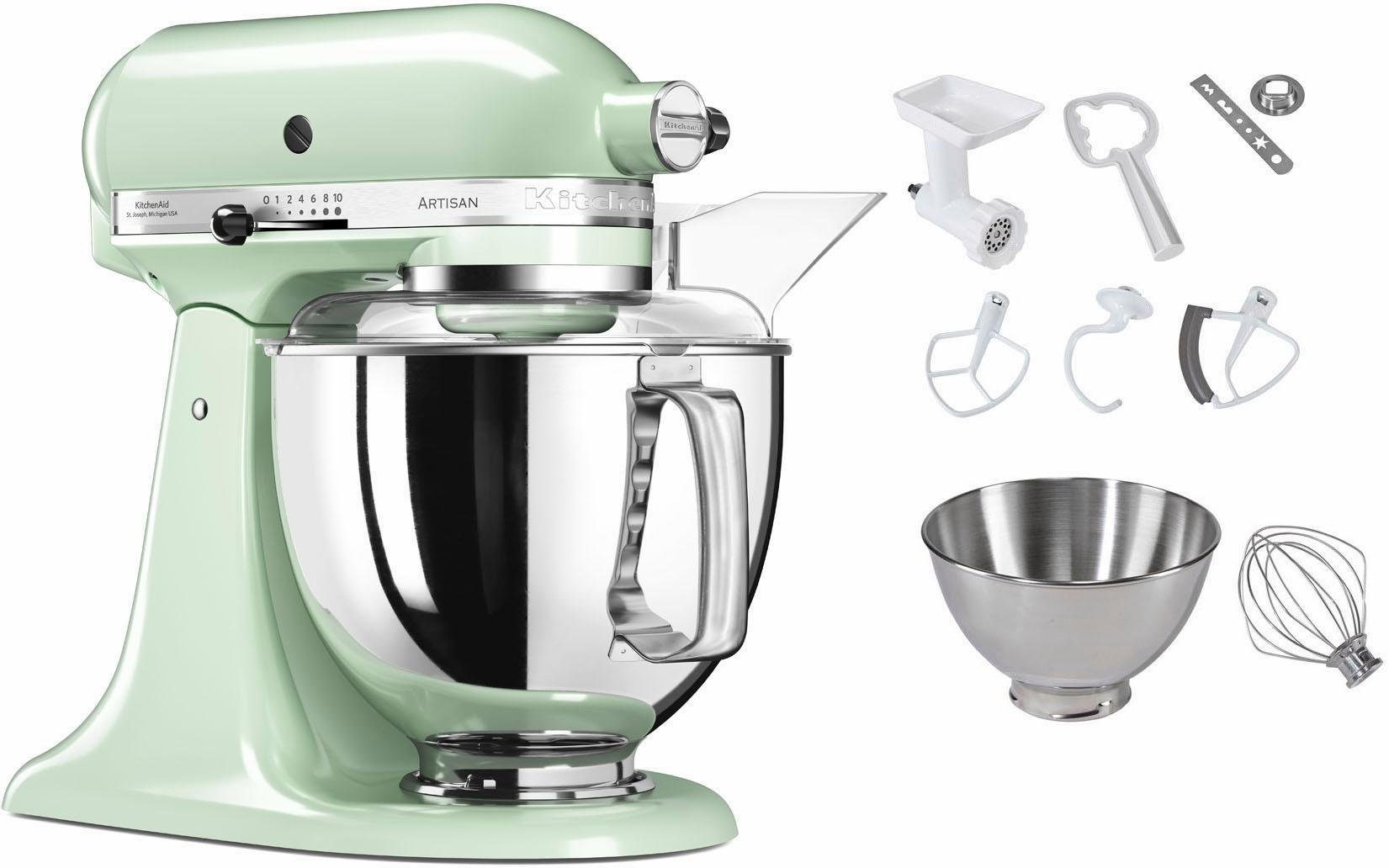 KitchenAid® Küchenmaschine 5KSM175PSEPT Artisan, inkl. Sonderzubehör im Wert von ca. 214,-€