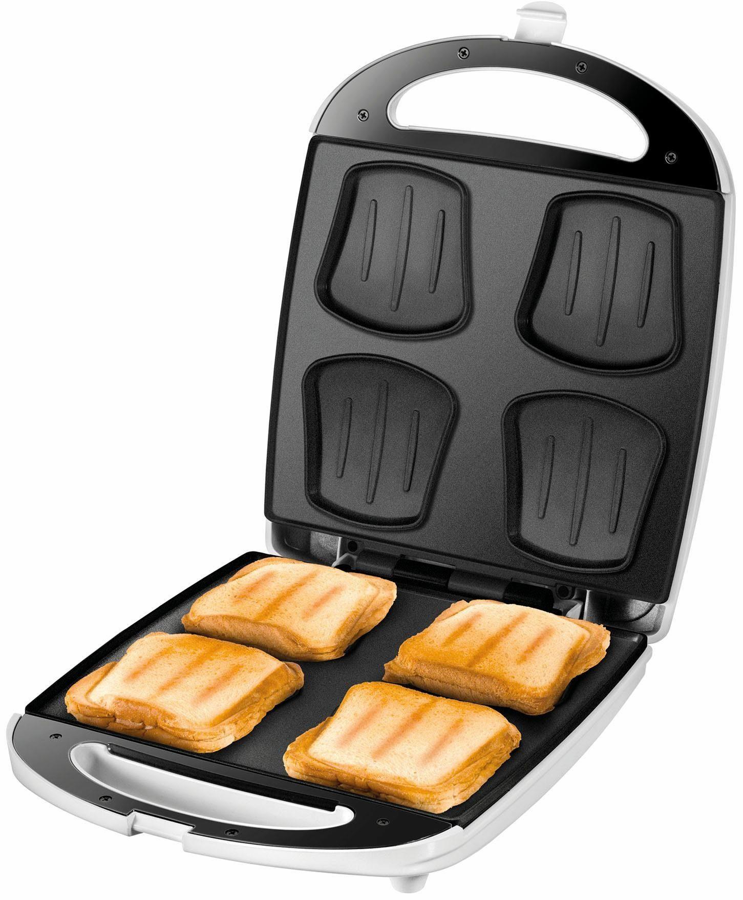 UNOLD® Sandwich-Toaster Quadro 48480