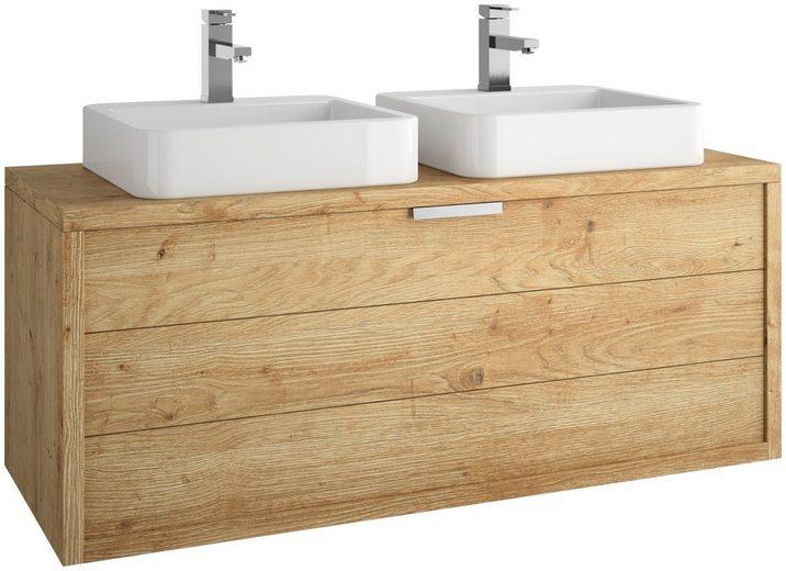 ALLIBERT Waschtisch »Palermo«, Doppelwaschbecken & Doppelwaschtisch Breite 120 (3-tlg.)