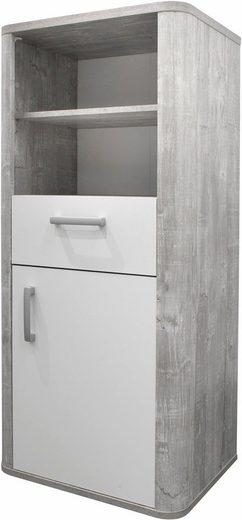 beistellschrank aarhus in vintage grau wei matt lack online kaufen otto. Black Bedroom Furniture Sets. Home Design Ideas