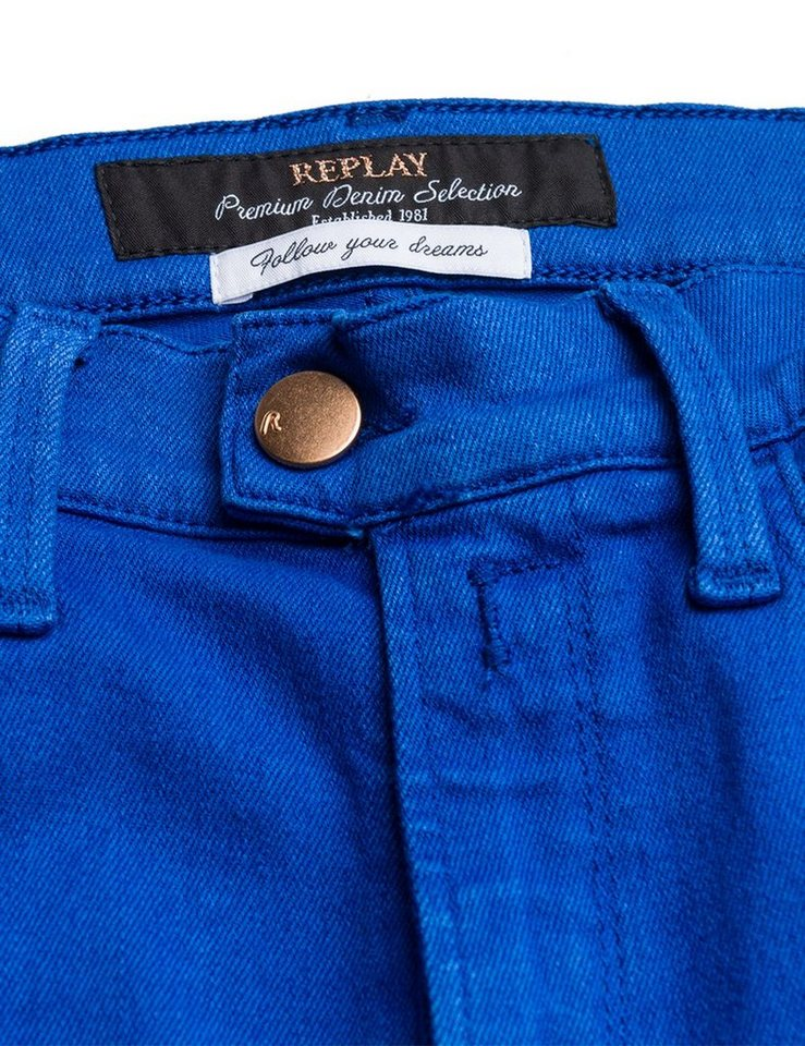 Replay Skinny Jeans high waist »TOUCH Color«