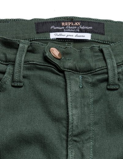 Replay Skinny Jeans high waist TOUCH Color