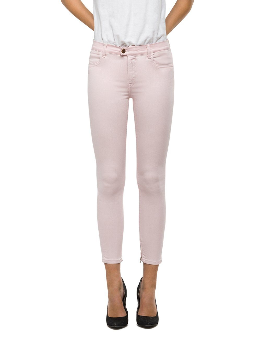 Replay Skinny cropped Jeans High Waist »TOUCH Color«