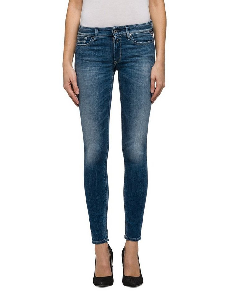 replay skinny jeans low waist luz online kaufen otto. Black Bedroom Furniture Sets. Home Design Ideas