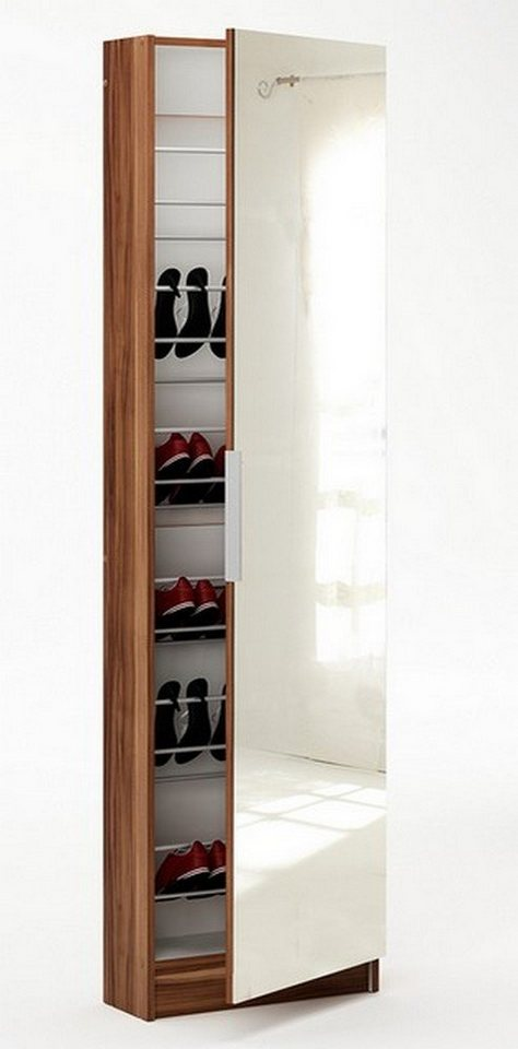 hti living schuhschrank mit spiegel zapatero otto. Black Bedroom Furniture Sets. Home Design Ideas
