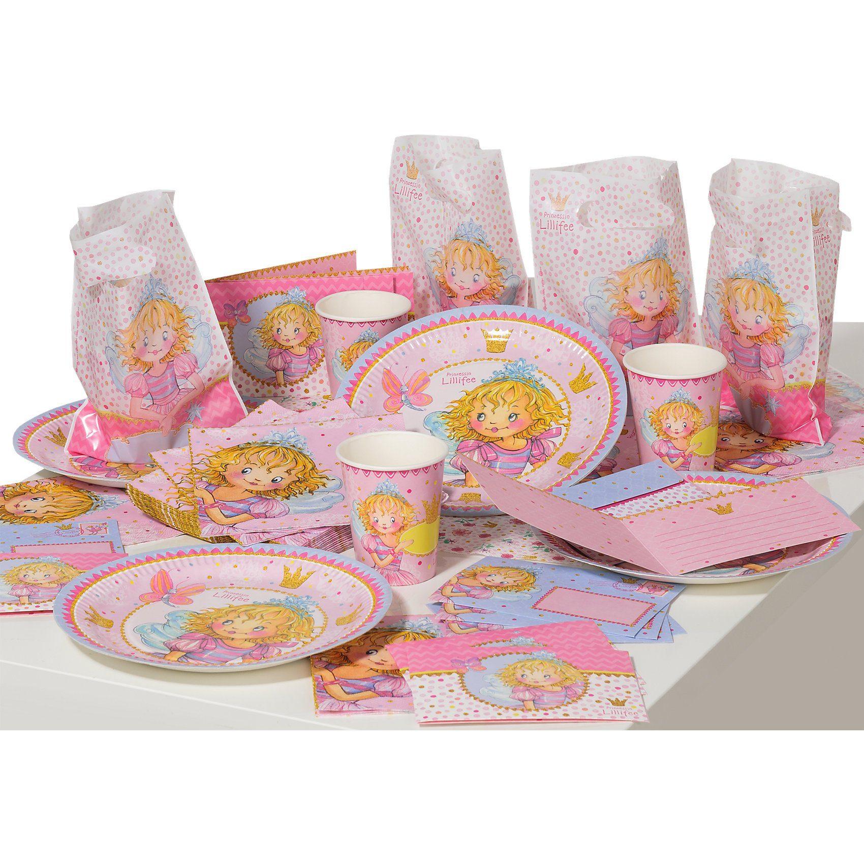 """Spiegelburg Partyset Prinzessin Lillifee """"für Prinzessinnen"""" (komplett)"""