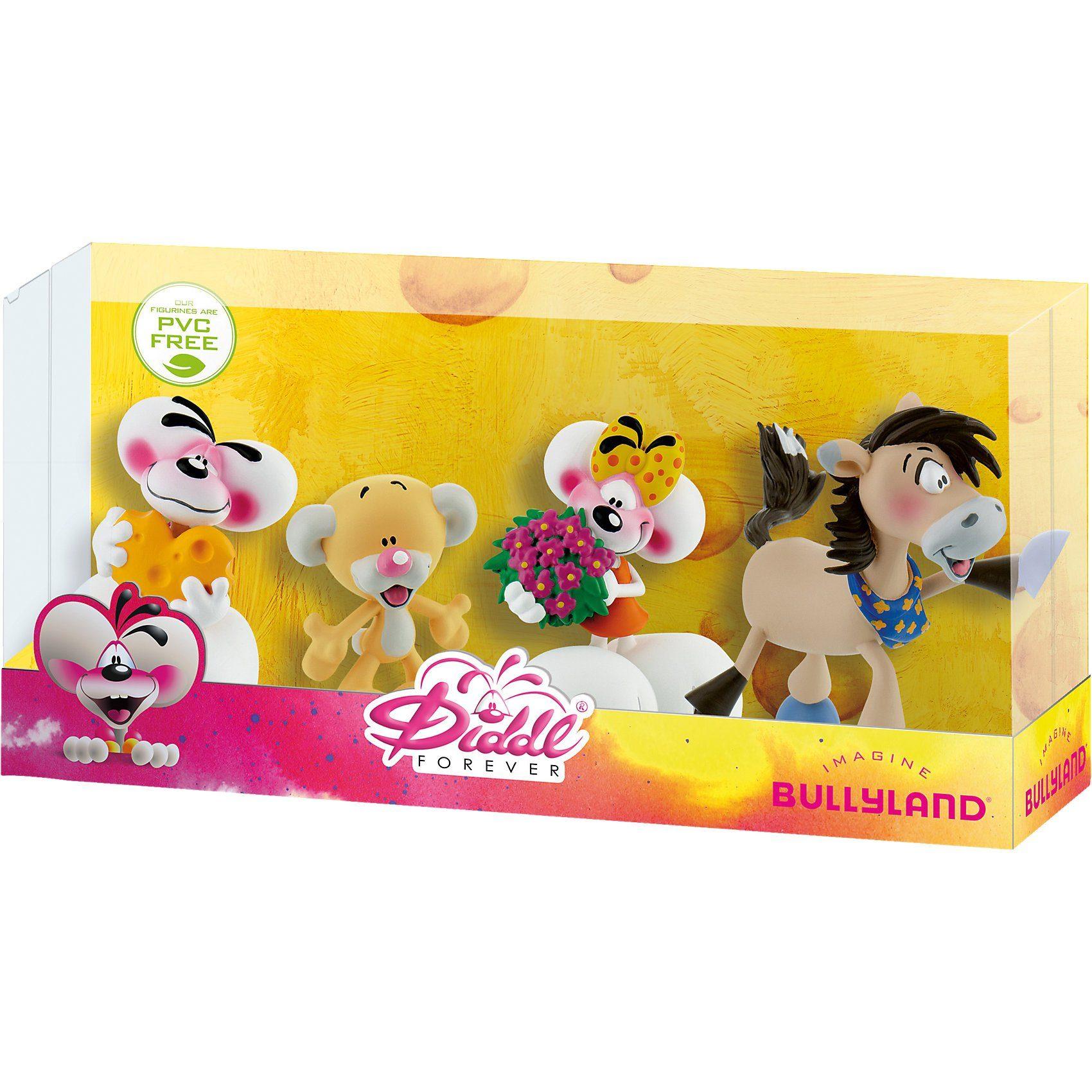 BULLYLAND Geschenk-Box Diddl Forever mit 4 Spielfiguren