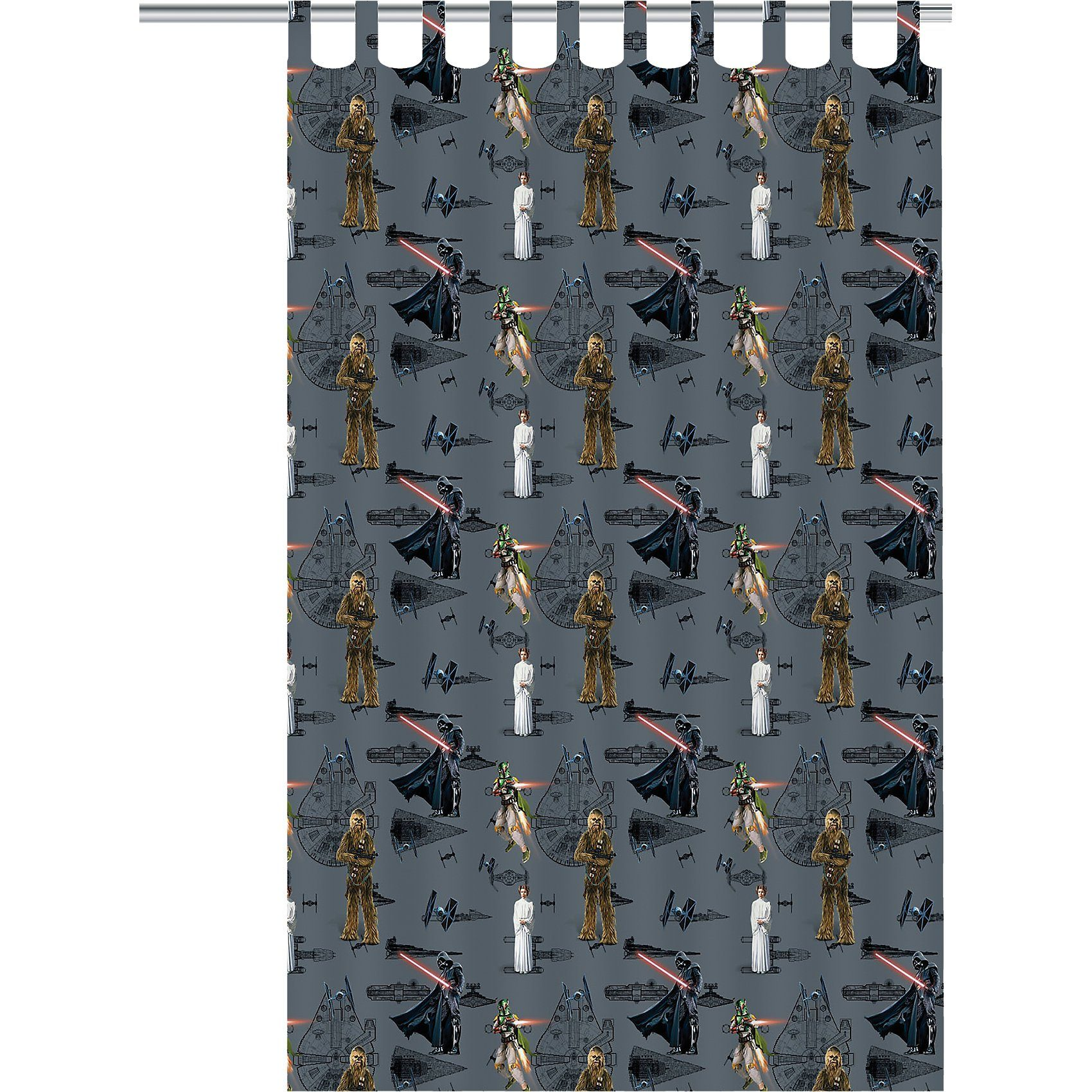 Vorhang, blickdicht, Star Wars, 140 x 250 cm