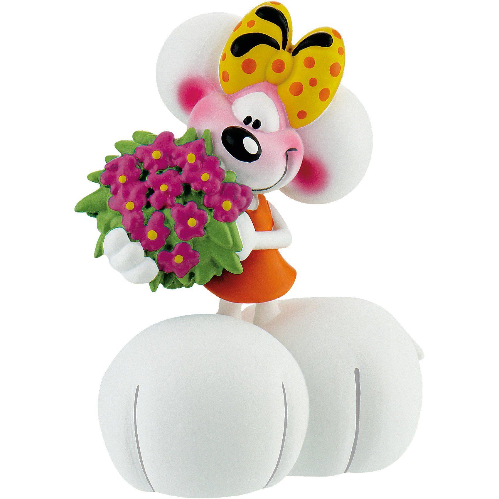 BULLYLAND Spielfigur Diddl Forever - Diddlina mit Blumen