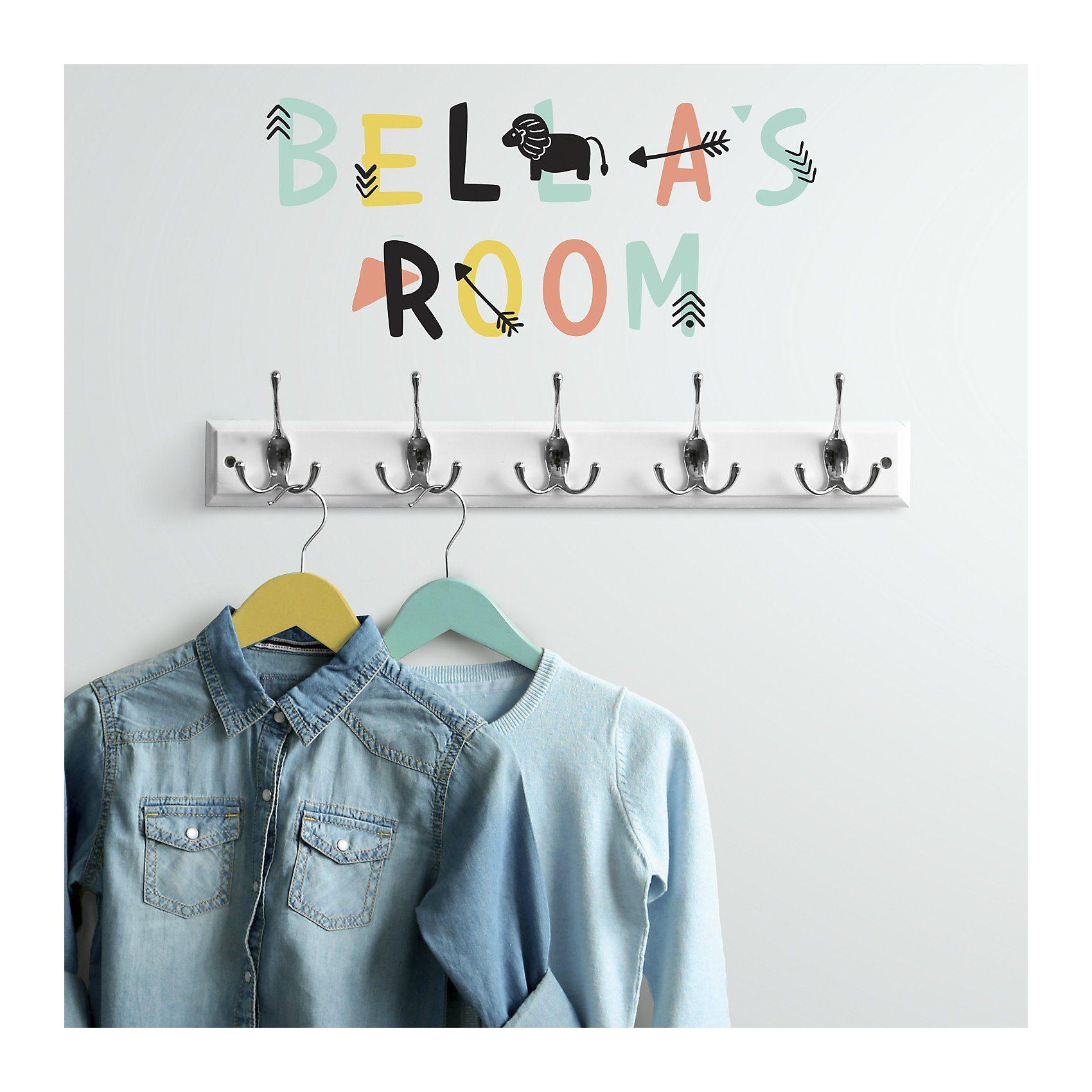 RoomMates Wandsticker Alphabet, bunt