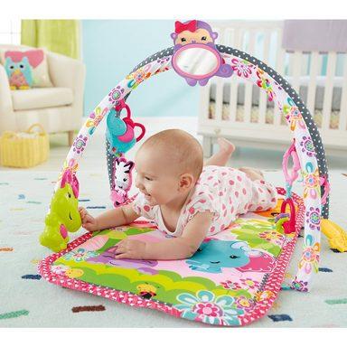 Mattel® Fisher-Price 3-in-1 Musikspaß Spieldecke, pink