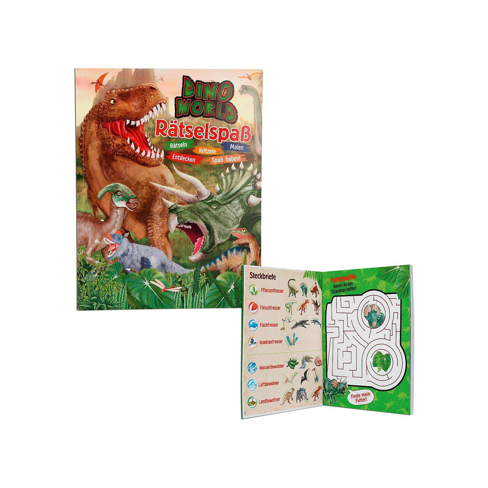 Depesche Dino World Rätselspaß