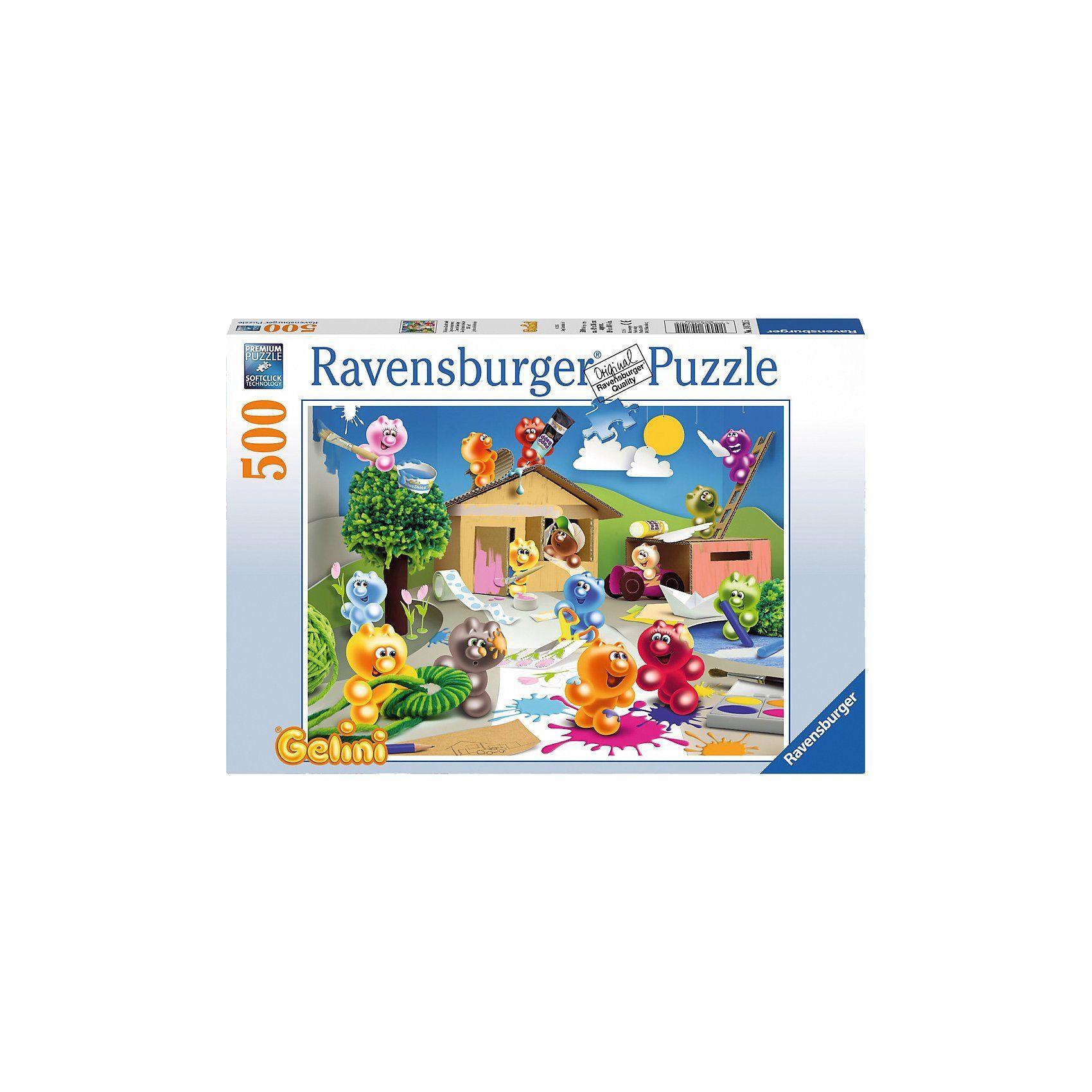 Ravensburger Puzzle 500 Teile Gelini: Fröhliche Bastelrunde