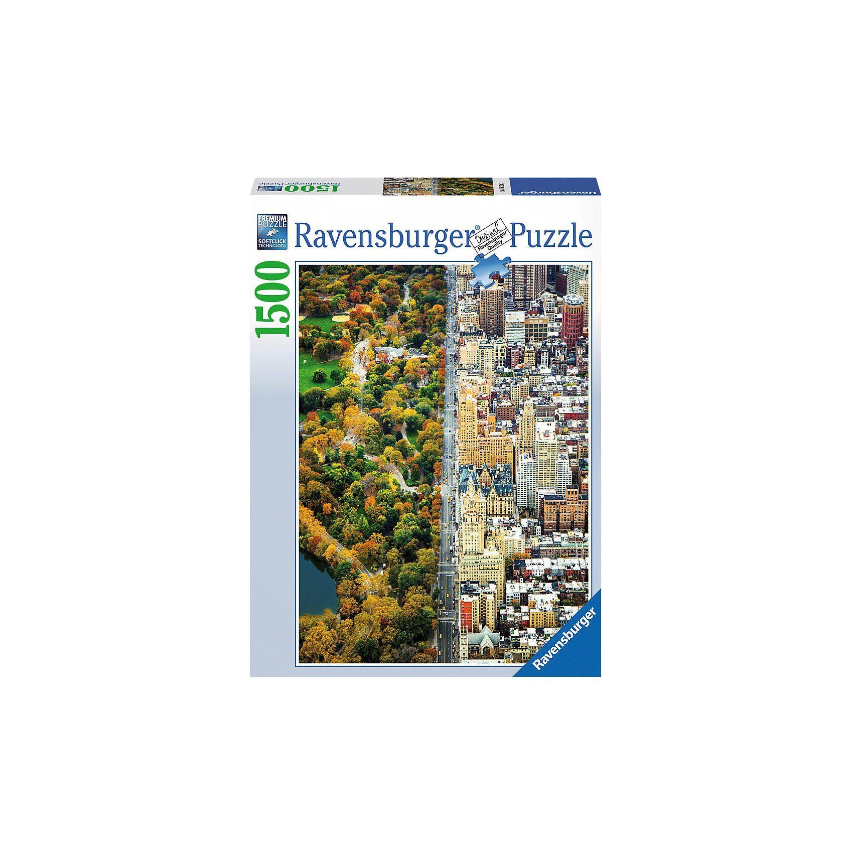 Ravensburger Puzzle 1500 Teile Geteilte Stadt