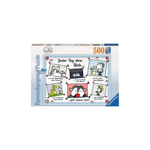 Ravensburger Puzzle 500 Teile Jeder Tag ohne dich