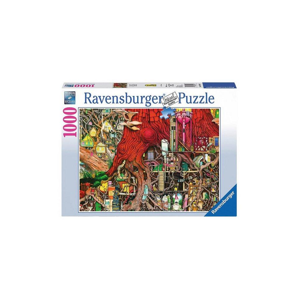 Ravensburger Puzzle 1000 Teile, 70x50 cm, Verborgene Welt online kaufen