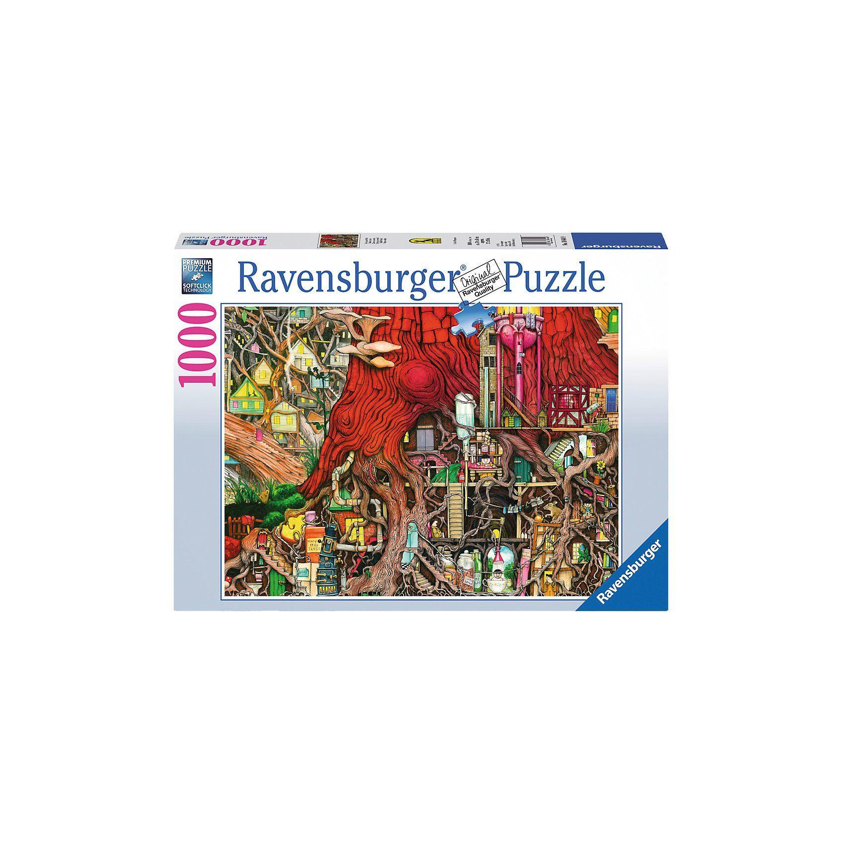 Ravensburger Puzzle 1000 Teile Verborgene Welt
