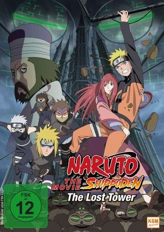 DVD »Naruto Shippuden - The Movie 4: The Lost Tower«
