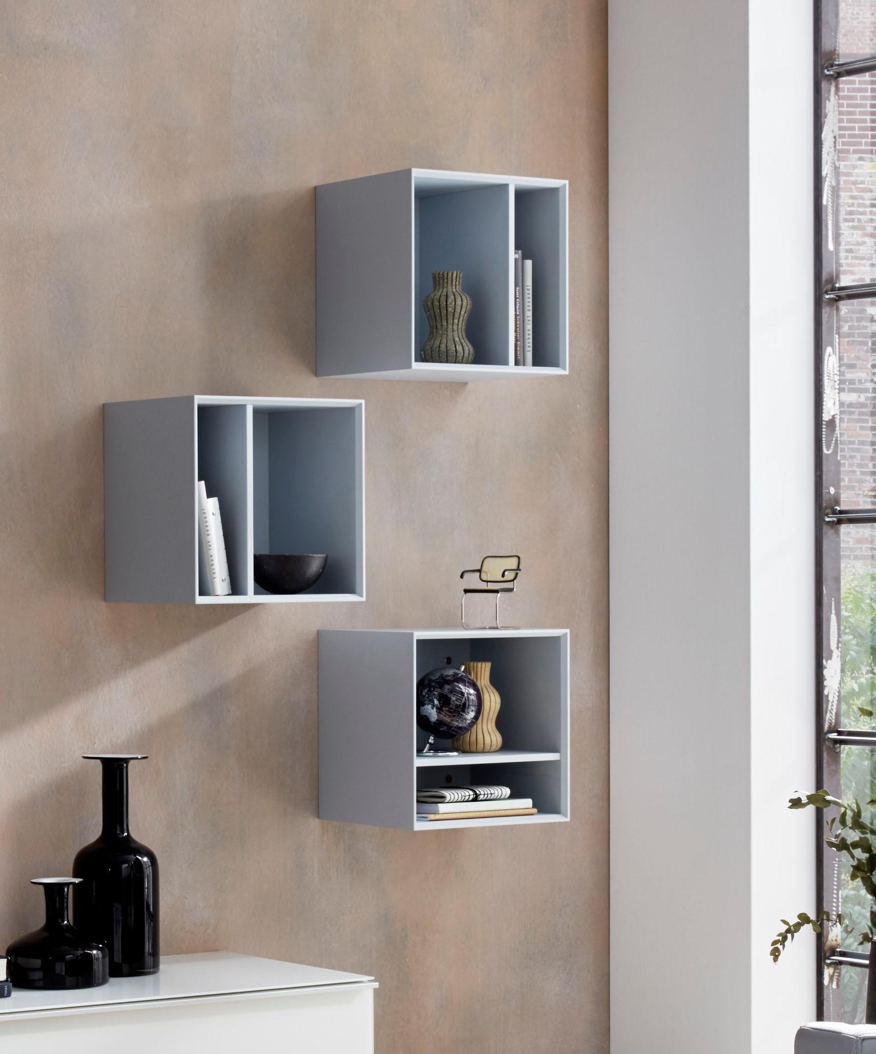 Germania Regalwürfel »Larino«, Breite 35 cm | Wohnzimmer > Regale > Regalwürfel | Spanplatte - Sonoma - Eiche - Nachbildung - Abs | GERMANIA