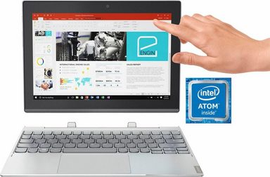 Lenovo MIIX 320-10ICR Convertible Notebook (25,7 cm/10,1 Zoll, Intel Atom, inkl. Office 365 Personal (ESD)