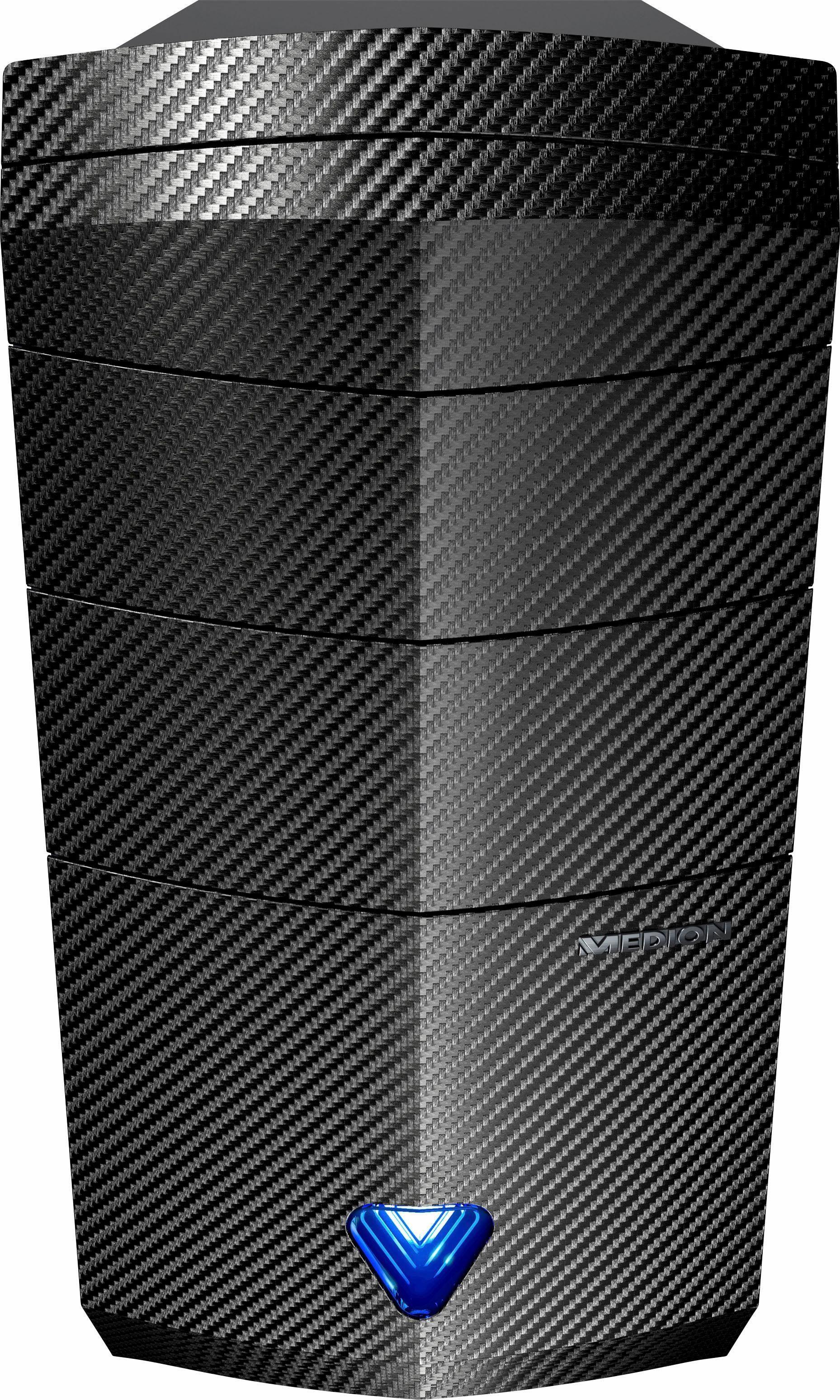 Medion® AKOYA P3605 D, AMD Ryzen™ 5, 8192 MB DDR4, 1120 GB Speicher, AMD Radeon RX 460