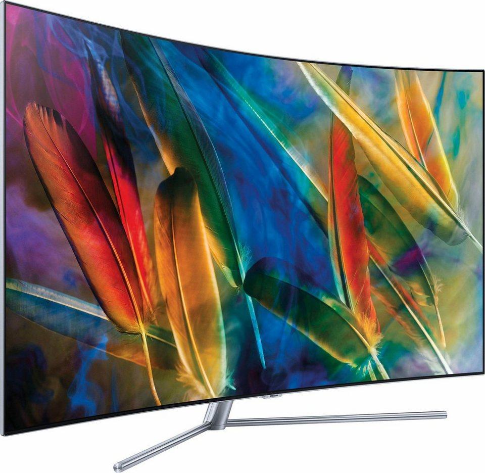 Full Hd Fernseher 55 Zoll 65 Uhd Smart Tv Ju6000 Seria 6 Hd Tv 2019 Ccd Camera Infrared: Samsung QE55Q7CGMTXZG Curved-QLED-Fernseher (55 Zoll, 4K