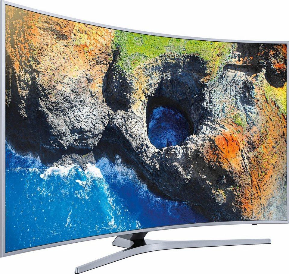 samsung ue55mu6509uxzg curved led fernseher 138 cm 55 zoll 4k ultra hd smart tv 360 video. Black Bedroom Furniture Sets. Home Design Ideas