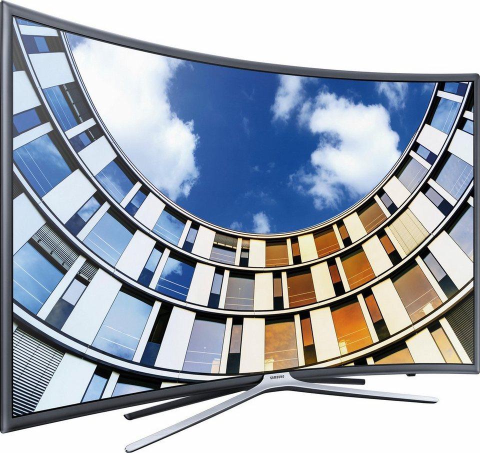 samsung ue55m6379auxzg curved led fernseher 138 cm 55. Black Bedroom Furniture Sets. Home Design Ideas