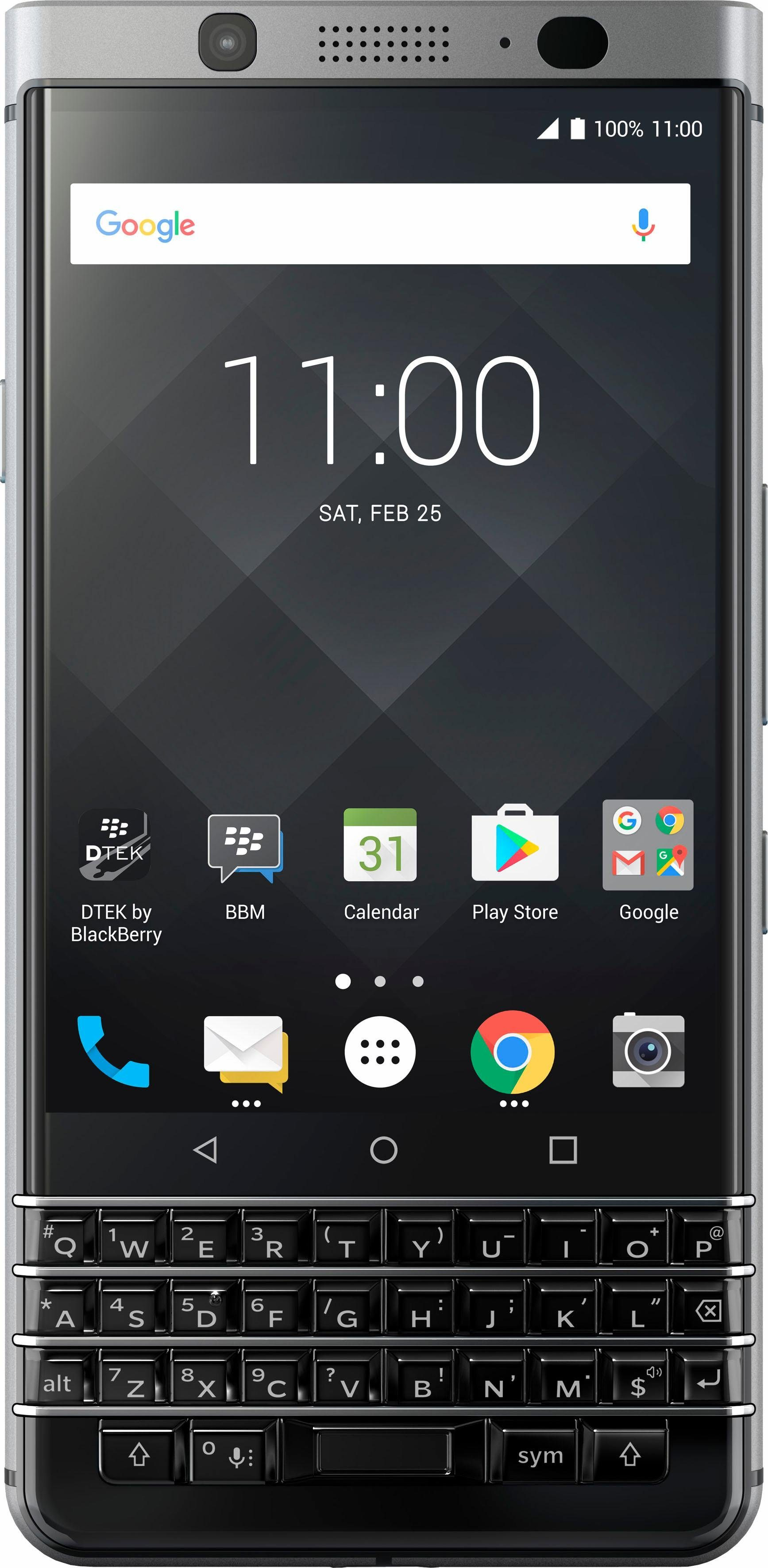 Blackberry KEYone Smartphone, 11,4 cm (4,5 Zoll) Display, LTE (4G), Android 7.1 Nougat
