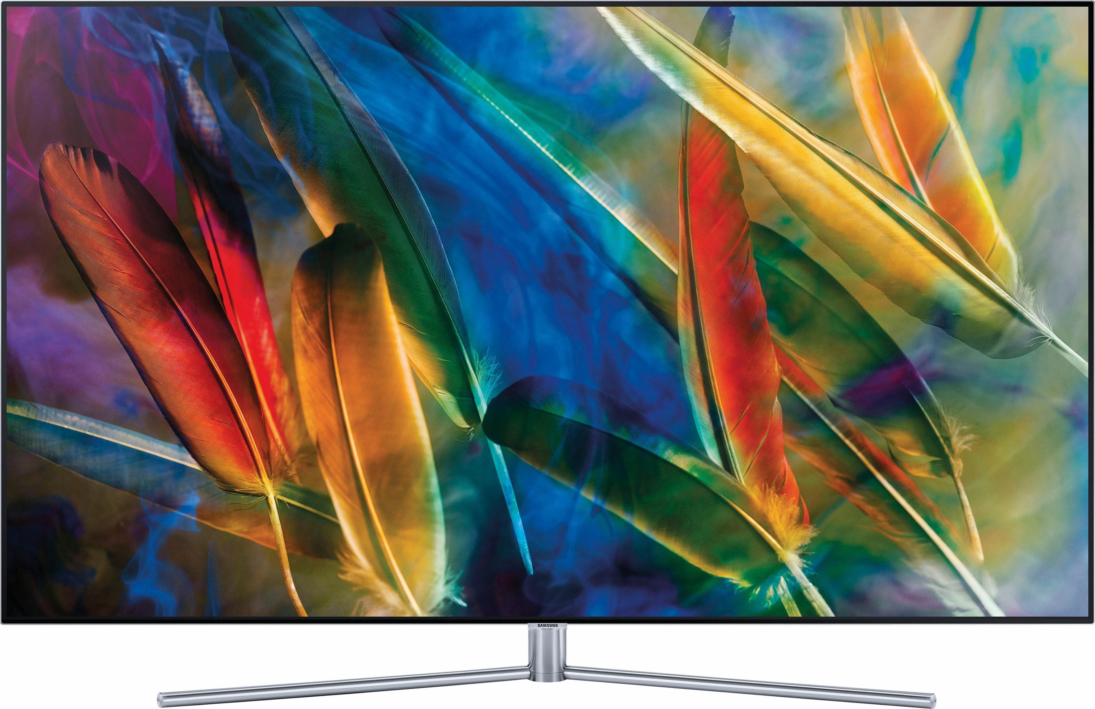 Samsung Premium QE55Q7FGMTXZG QLED-Fernseher (138 cm/55 Zoll, 4K Ultra HD, Smart-TV)