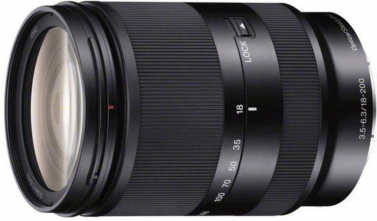 Sony »SEL18200LE« Zoomobjektiv