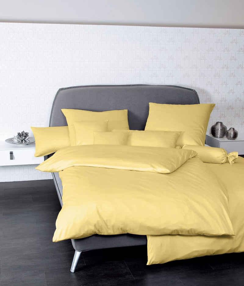 Bettwäsche »Colors 31001«, Janine, mit Reißverschluss