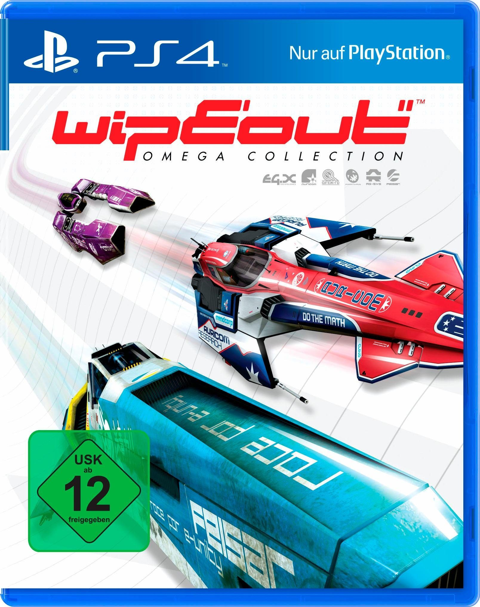 WipEout Omega Collection PlayStation 4