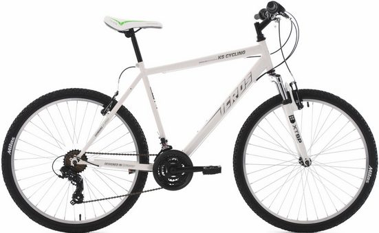 KS Cycling Mountainbike »Icros«, 21 Gang Shimano Tourney Schaltwerk, Kettenschaltung