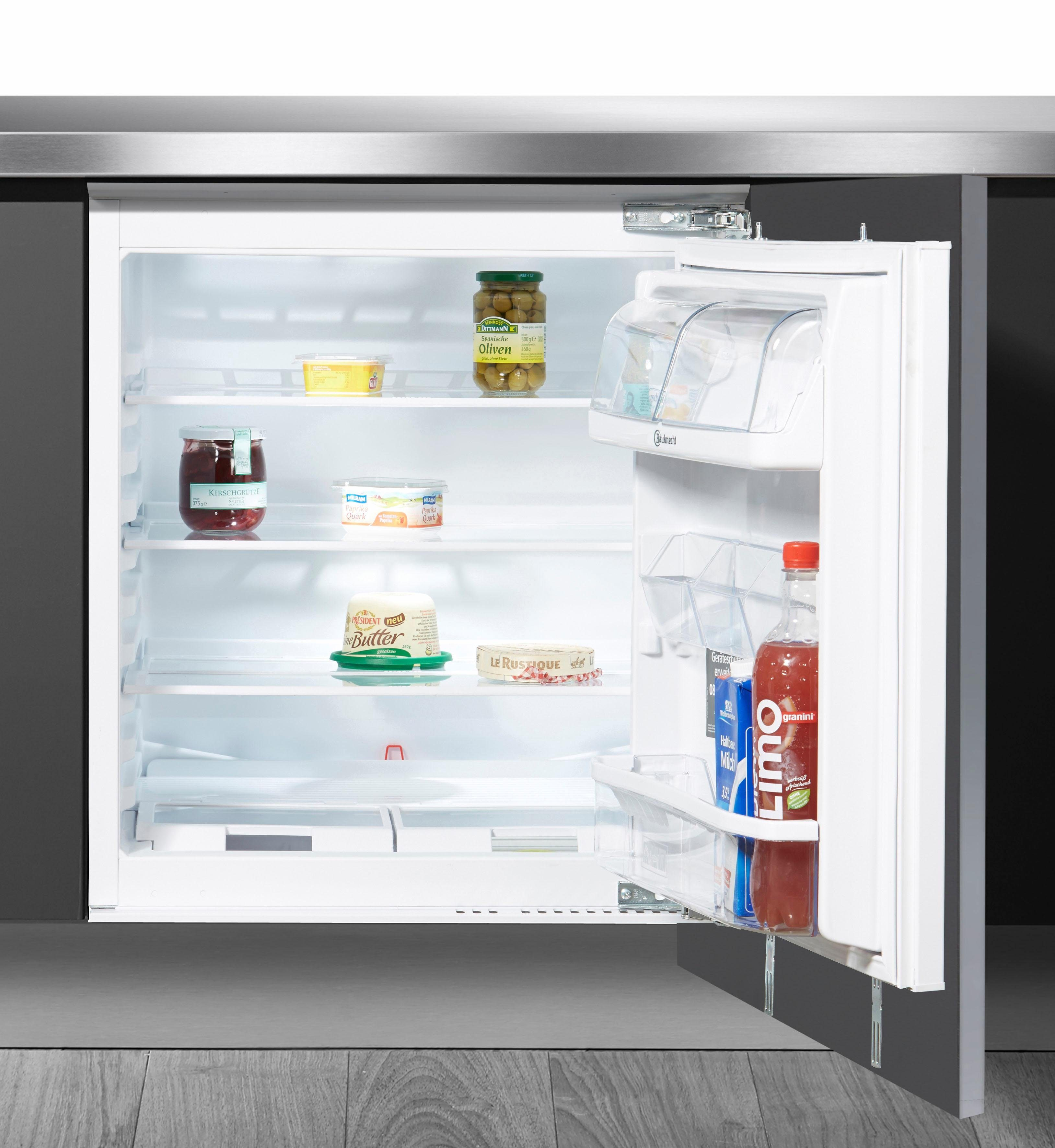 Bauknecht integrierbarer Unterbaukühlschrank KR 923 A++, Energieklasse A++, 81,5 cm hoch