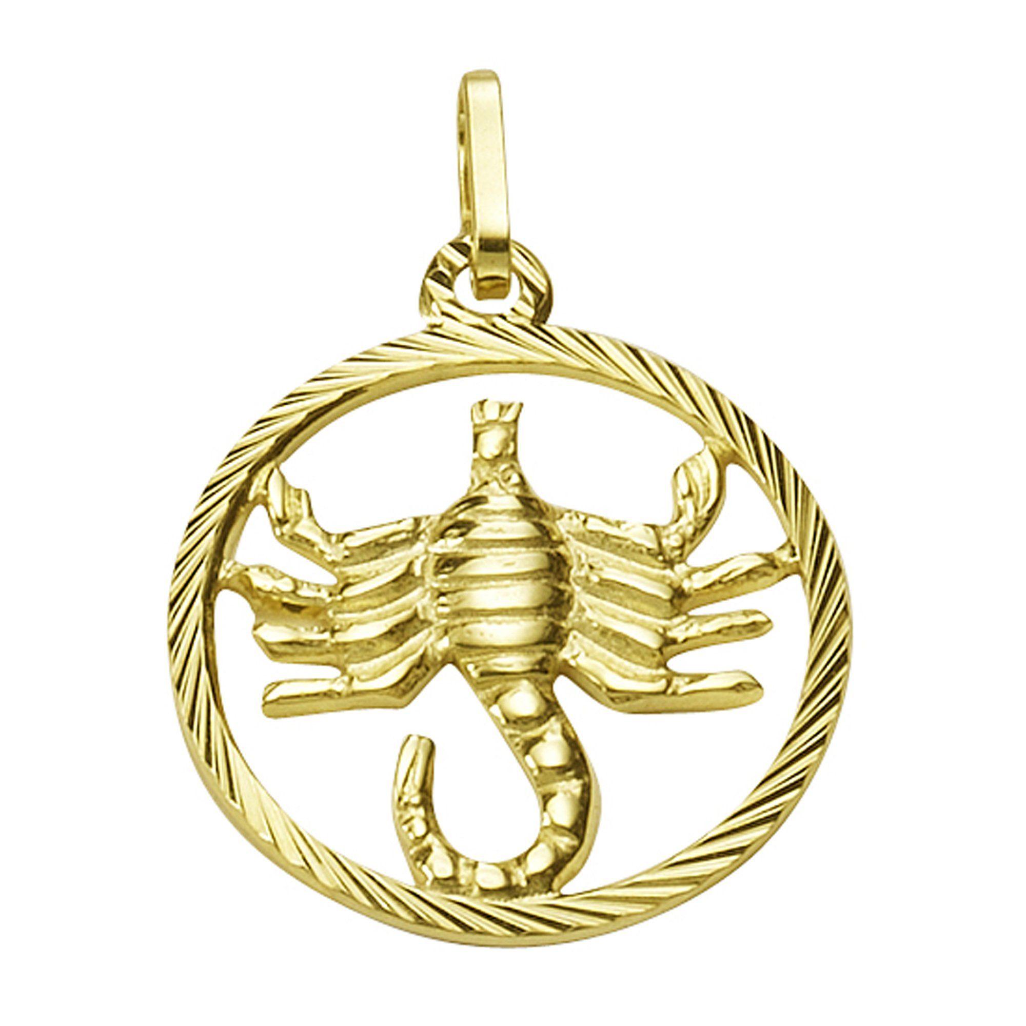 Firetti Anhänger Sternzeichen Skorpion »333/- Gelbgold«