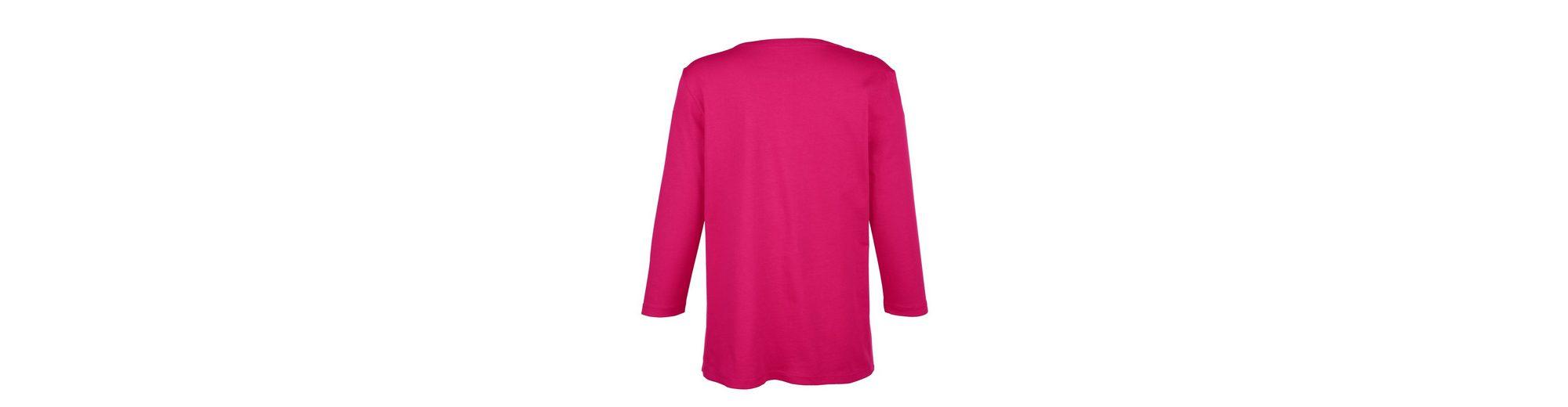 Paola Shirt mit gummiertem Druck Günstig Kaufen Neuesten Kollektionen Erstaunlicher Preis Günstigsten Online nmvXp