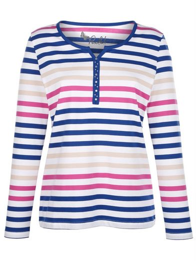 Paola Shirt mit Streifen
