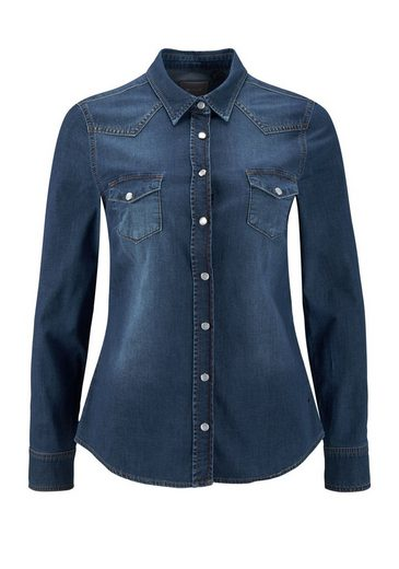 MUSTANG Jeansbluse