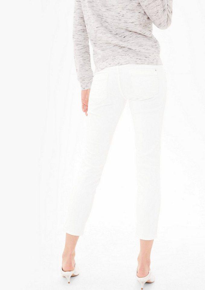 s oliver red label shape ankle wei e stretch jeans online kaufen otto. Black Bedroom Furniture Sets. Home Design Ideas