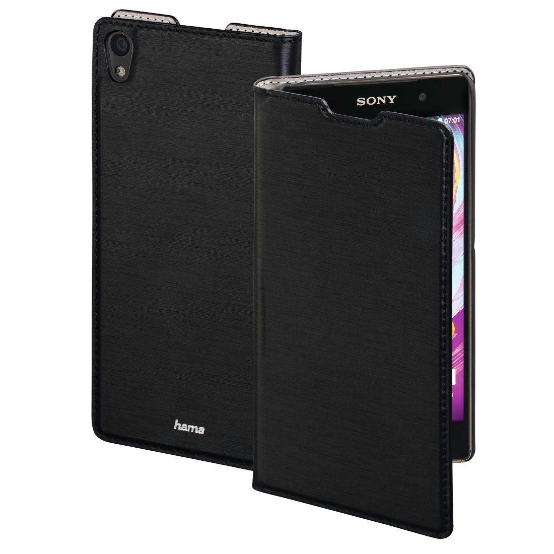 Hama Booklet Slim für Sony Xperia E5, Schwarz