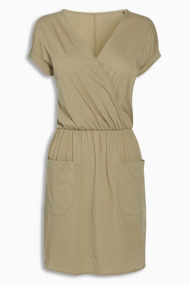 next baumwollkleid mit taschen online kaufen otto