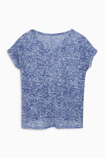 Next T-Shirt mit Ausbrennermuster