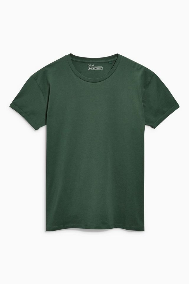 next t shirt mit gerollten rmeln online kaufen otto. Black Bedroom Furniture Sets. Home Design Ideas