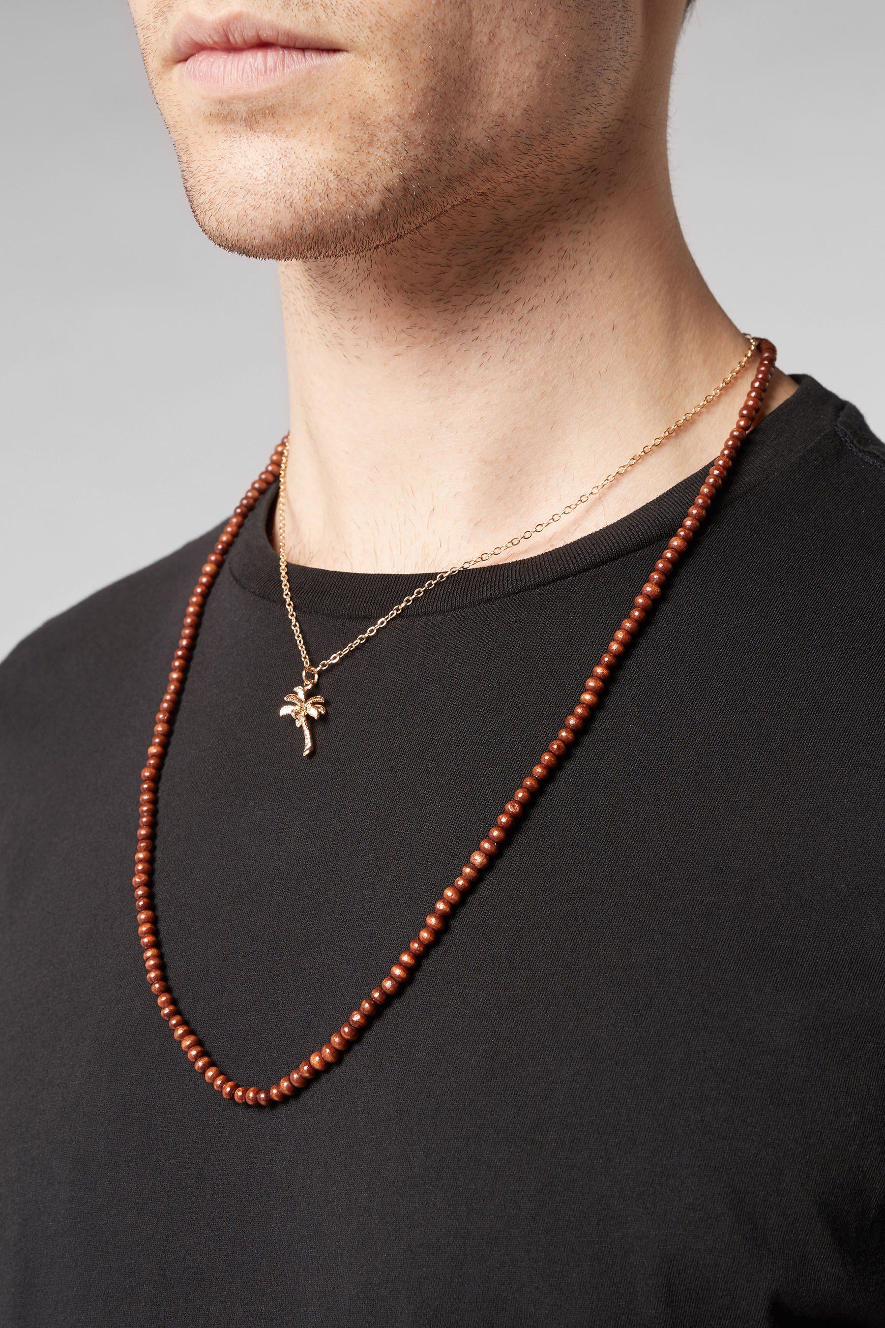 Next Halsketten mit Palmenanhänger